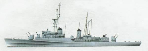 «Centauro» («Кентавр») эсминец (Италия)