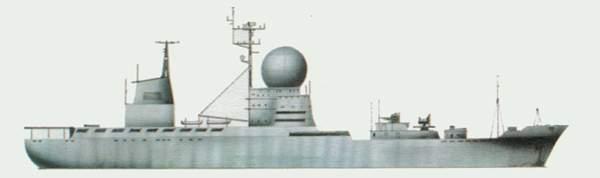 «Chazhma» («Чесма») корабль управления ракетами (СССР)