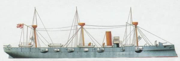 «Chiyoda» («Чийода») крейсер (Япония)
