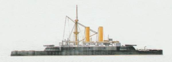 «Collingwood» («Коллингвуд») броненосец (Великобритания)