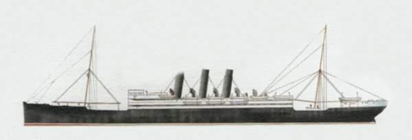 «Columbia» («Колумбия») лайнер (Великобритания)