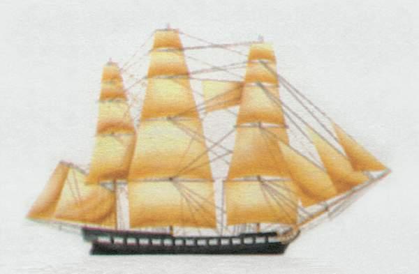 «Constitution» («Конститьюшн») парусный фрегат (США)