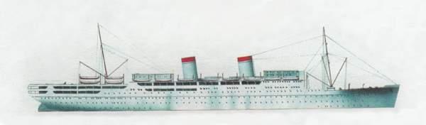 «Conte Grande» («Конте Гранде») лайнер (Италия)