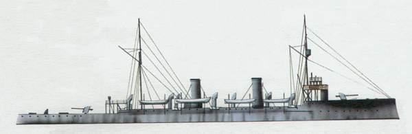 «Coronel Bolognesi» («Коронель Болоньеси») крейсер (Перу)