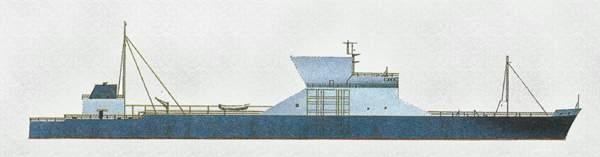 «Hakuryu Maru» («Хакурю Мару») судно для перевозки стали (Япония)