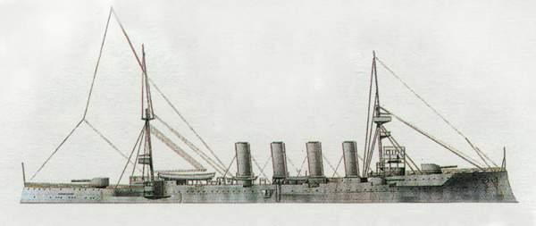 «Hampshire» («Хэмпшир») крейсер (Великобритания)