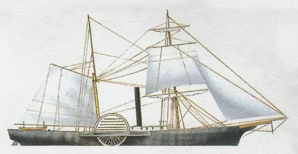 «Harriet Lain» («Харриет Лейн») канонерская лодка (США)