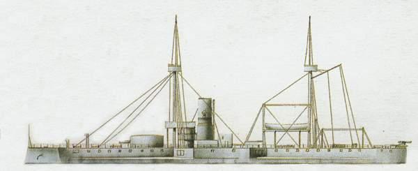 «Helgoland» («Гельголанд») броненосец (Дания)