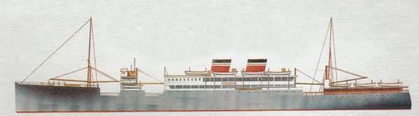 «Highland Chieftain» («Хайленд Чифтейн») лайнер (Великобритания)