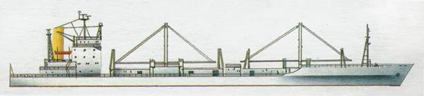 «Hudson Rex» («Хадсон Рекс») рефрижераторное судно (Панама)