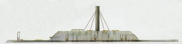 «Huntsville» («Хантсвилл») броненосец (Конфедерация)
